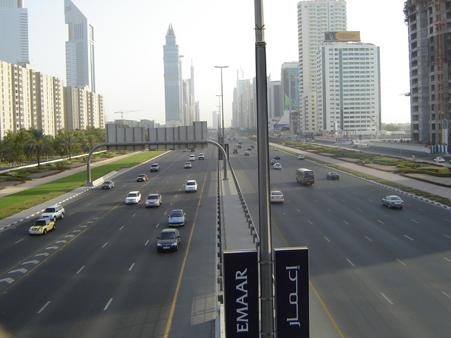 View of Sheikh Zayed RoadFreeImages.com/Asif Akbar